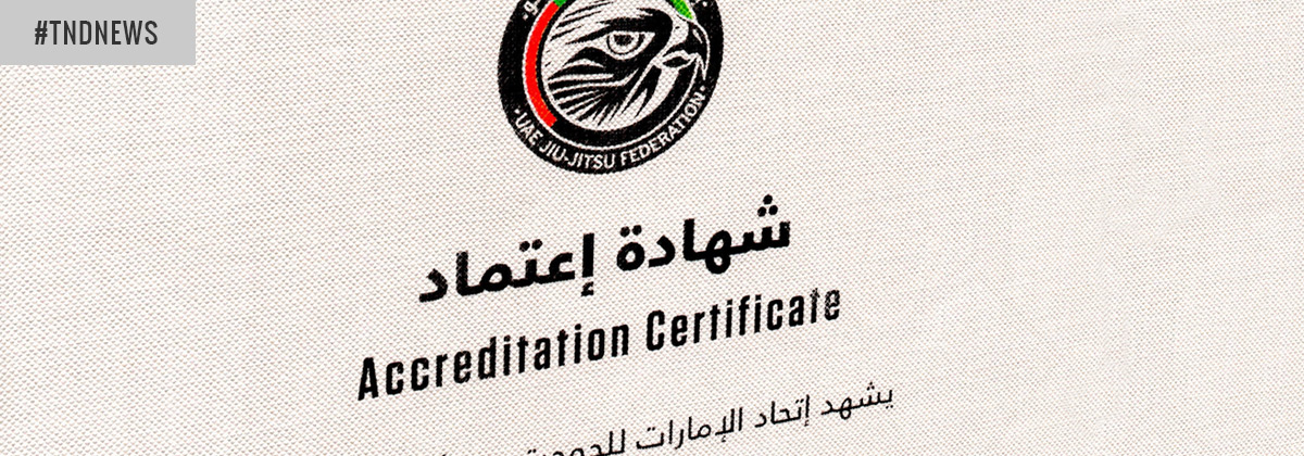 Official BJJ Accreditation