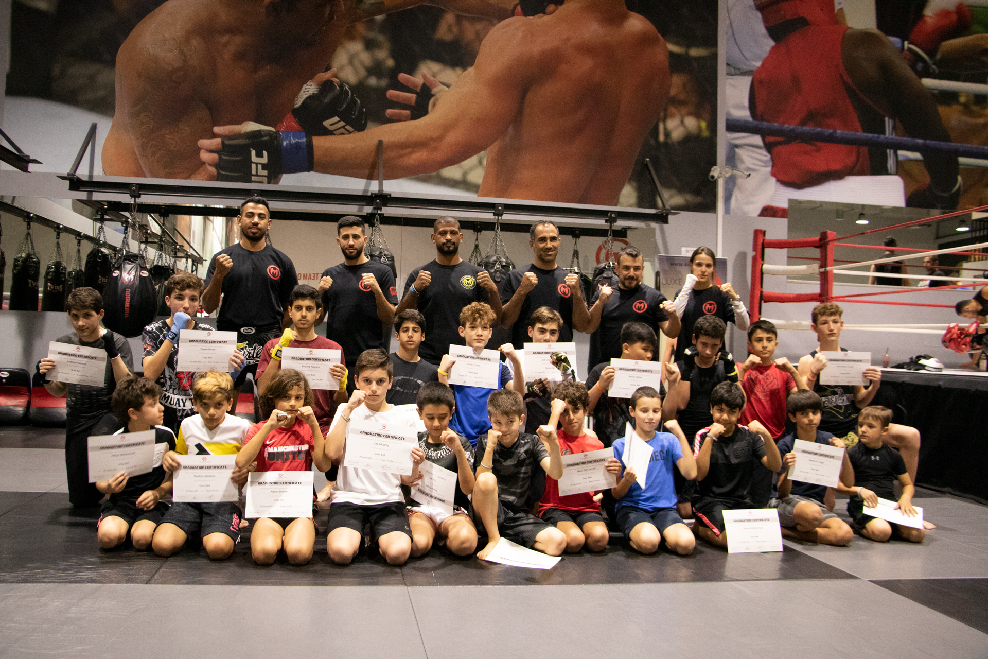 MUAY THAI MINO EXAM – GALLERY